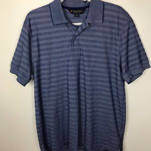 Brooks Brothers Sz M Blue Original Fit Polo